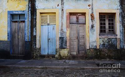 Luis Photograph - Doors Of Alcantara Brazil 1 by Bob Christopher