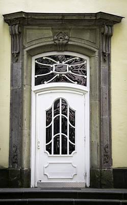 Doors Of Cologne 02 Art Print