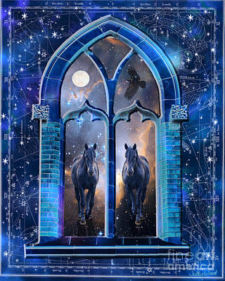 Judy Wood Digital Art - Doors Of Creation by Judy Wood