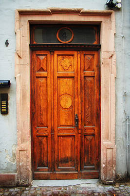 Doors Of Europe Print by Mountain Dreams