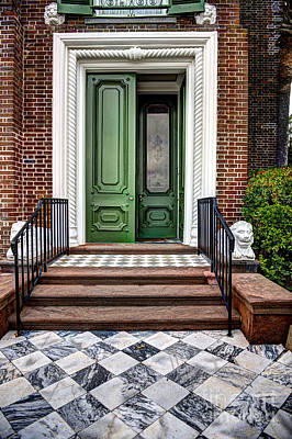 Photograph - Doors Of Historic Charleston by Dale Powell