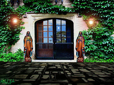 Doors Of Ivy Art Print