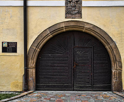 Photograph - Doors Of Kromeriz Iv by Robert Culver