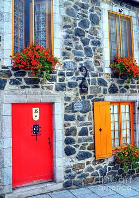 Photograph - Doors Of Quebec 2 by Mel Steinhauer