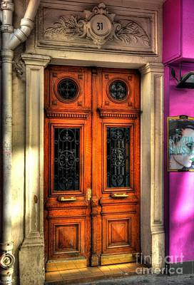 Photograph - Doors Of Rue Cler 2 by Mel Steinhauer