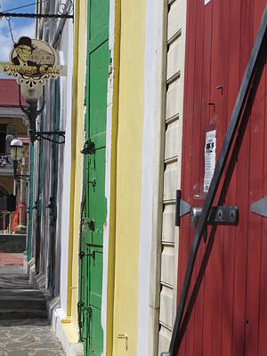 Photograph - Doors Of St. Thomas Usvi  by Jean Marie Maggi