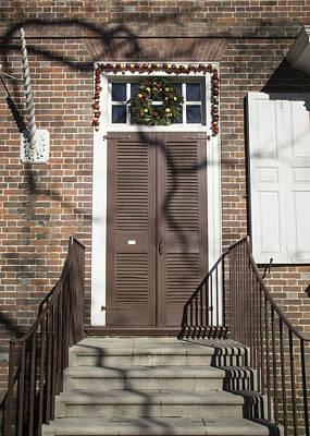 Virginia Photograph - Doors Of Williamsburg 07 by Teresa Mucha