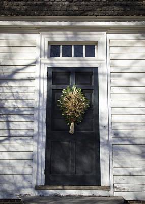Virginia Photograph - Doors Of Williamsburg 22 by Teresa Mucha