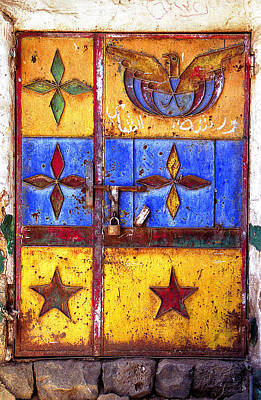 Photograph - Doors Of Yemen 7 by Robert Woodward