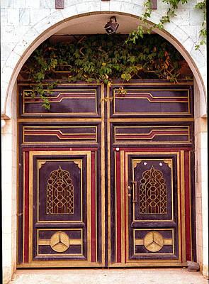 Photograph - Doors Of Yemen 9 by Robert Woodward