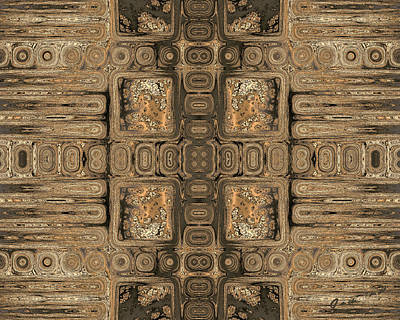 Digital Art - Doors Of Zanzibar Allspice by Judi Suni Hall
