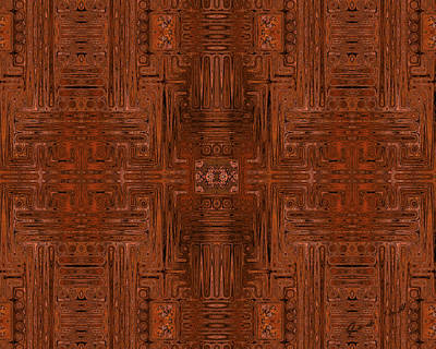 Digital Art - Doors Of Zanzibar Cayenne by Judi Suni Hall