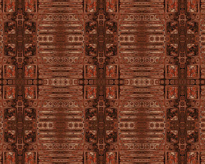 Digital Art - Doors Of Zanzibar Clove by Judi Suni Hall