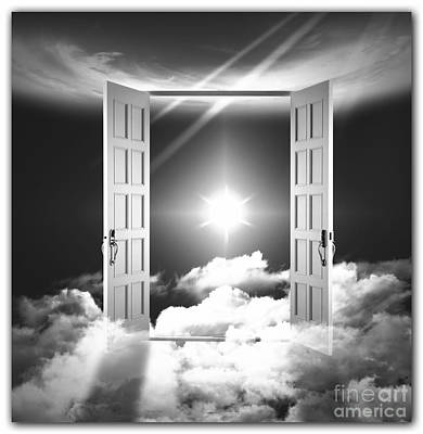Surrealism Royalty-Free and Rights-Managed Images - Doors to Paradise by Stefano Senise