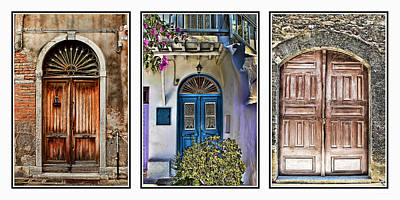 High Quality Images Photograph - Doors by Tom Prendergast