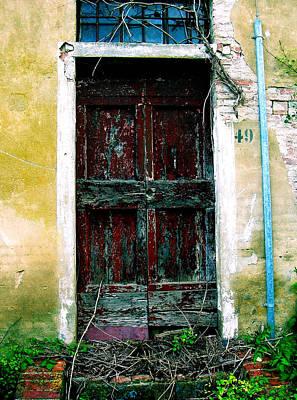 Doorway 49 Art Print by Maria Huntley