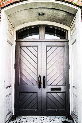 Photograph - Doorway At Morris Avenue by Shelby  Young