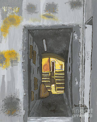 Doorway In Cinque Terra Art Print