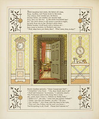 Barometer Photograph - Doorway Into Room by British Library