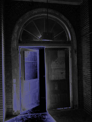 Digital Art - Doorway Into The Dark				 by Aaron Martens