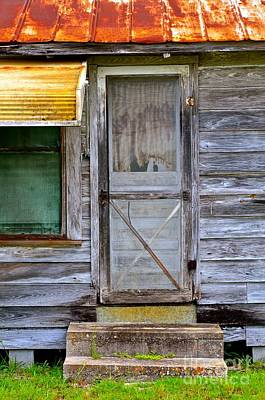 Photograph - Doorway Into The Past by AnnaJo Vahle