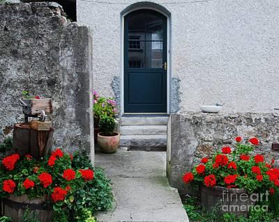 Doorway At Killruddery House Ireland Print by Marcus Dagan