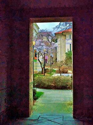 Photograph - Doorway by Ludwig Keck
