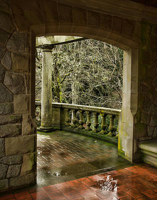 Photograph - Courtyard Doorway by Marilyn Wilson