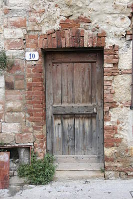 Photograph - Doorway Number Ten by Bryan Davies