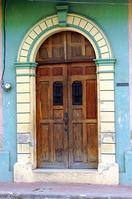 Photograph - Doorway Of Nicaragua 001 by David Beebe