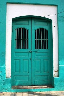 Photograph - Doorway Of Nicaragua 002 by David Beebe