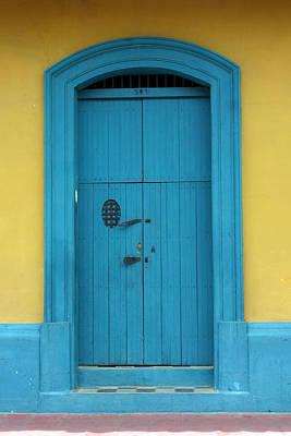 Photograph - Doorway Of Nicaragua 003 by David Beebe