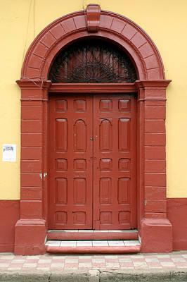 Photograph - Doorway Of Nicaragua 004 by David Beebe