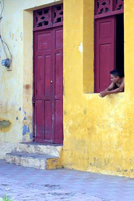 Photograph - Doorway Of Nicaragua 005 by David Beebe