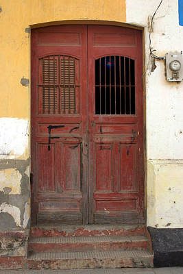 Photograph - Doorway Of Nicaragua 006 by David Beebe