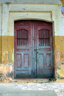 Photograph - Doorway Of Nicaragua 008 by David Beebe