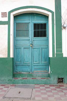 Photograph - Doorway Of Nicaragua 009 by David Beebe