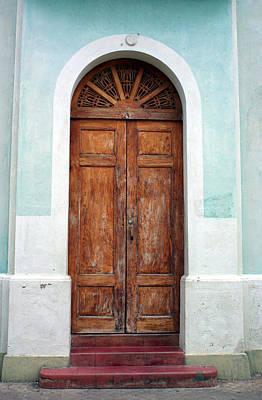 Photograph - Doorway Of Nicaragua 011 by David Beebe