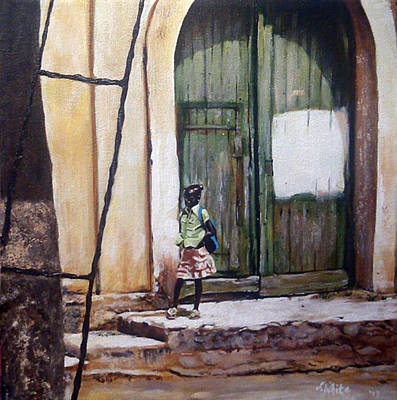 Painting - Doorway Of Opportunity by Jerome White