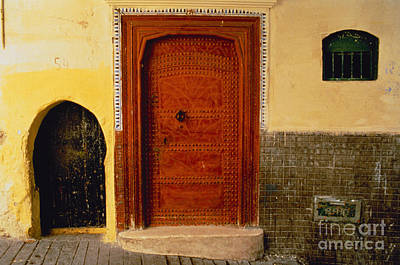 Photograph - Doorway In Tangier by Explorer