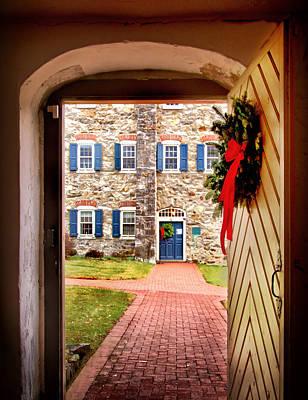Photograph - Doorway Through History by Carolyn Derstine