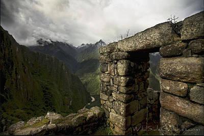 Machu Picchu Painting - Doorway To Heaven by Chris Perry