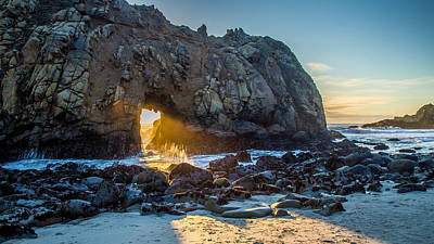 Pfeiffer Beach Photograph - Doorway To Heaven by Pierre Leclerc Photography