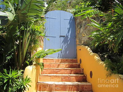 Art Print featuring the photograph Doorway To Paradise by Fiona Kennard