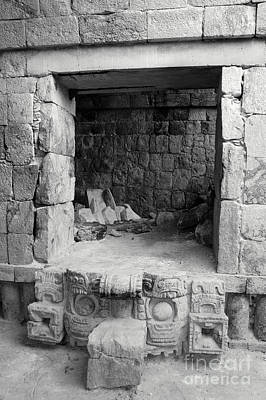 Photograph - Doorway To The Past Kabah Mexico by John  Mitchell