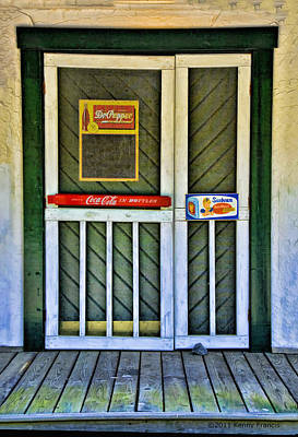 Doorway To The Past Art Print by Kenny Francis
