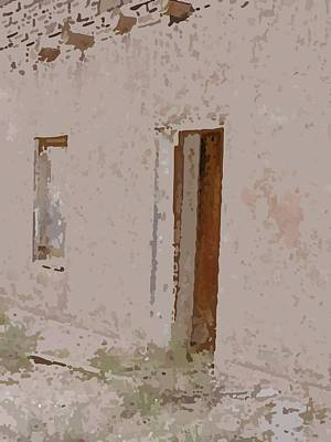 Photograph - Doorway To The Past by Susan Stephenson