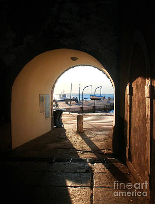 Photograph - Doorway To The Sea by Nina Ficur Feenan