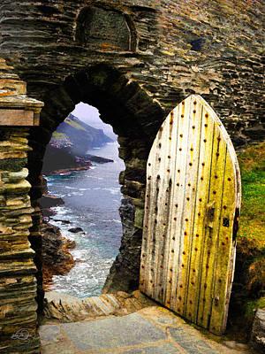 Digital Art - Doorway To The Sea by Vicki Lea Eggen