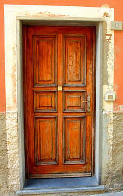 Photograph - Doorway Tuscany by Caroline Stella